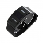 Skmei 9068 Water Resistant LED Sports Watch - Black