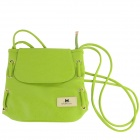 Women' s Casual Bucket Shoulder Bag Messenger Bag - Green