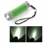 3000mAh Rechargeable Power Bank w/ 1.5W 78LM 7000K 3-mode White Light LED Flashlight - Green