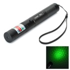 5mw 532nm Green Star Laser Pointer Pen - Black (US Plug)