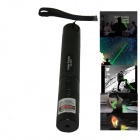 JD-301 Green Laser Pointer Pen w/ Charger - Black (1*18650)