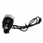 Marsing 3-Mode LED Cool White Bike Light/Headlamp - Black (4*18650)