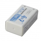 GOOD 9V 200mAh Rechargeable Ni-MH Nickel Metal Hydride Battery - White + Blue
