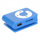 B001 Reproductor de MP3 con ranura TF / auricular de 3,5 mm - azul oscuro + blanco (16 GB)