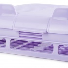 Adjustable Multifunction ABS Shoes Rack - Purple