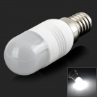 Mini E14 3W 160lm 6500K 11-3014 SMD LED Cold White Light Bulb