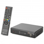 Azbox Bravissimo HDTV 1080p Dual Tuner Digital Satellite Receiver w/ USB / HDMI / RS-232 - Black