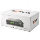 Azbox Bravissimo Dual Tuner Satellite Receiver w/ HDMI, RS-232 - Black