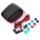 awei S120i 3.5mm In-ear Earphone w/ Microphone for HTC / Samsung + More - Black (Cable-130cm)