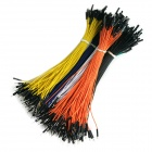 TENYING 1-Pin Male to Female Jumper Wire Dupont Cable for Arduino - Random Color (600 PCS / 20cm)