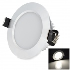HUGEWIN HTD685W 3W 220lm 6500K 6-LED White Ceiling Light - White (AC 85~265V)