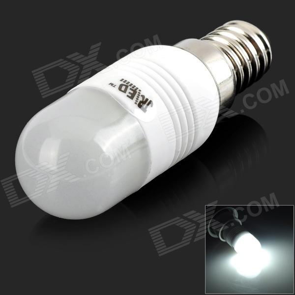 JRLED E14 3W 200lm 1-COB Cold White Light Bulb - White (AC 220~240V)
