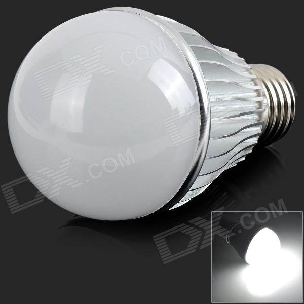 E27 9W 400lm 6000K 18-5630 SMD LED Neutral Vit Ljus Spotlight-Silver (AC 85 ~ 265V)
