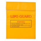YS113 Fire-proof Heat-resistant LiPo Lithium Polymer Battery Safety Guard Bag - Yellow