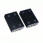 GQD WLR-030 2.4GHz 3W 8-Channel Wireless Audio Video AV Kit transmisor receptor remitente - (DC 12V)