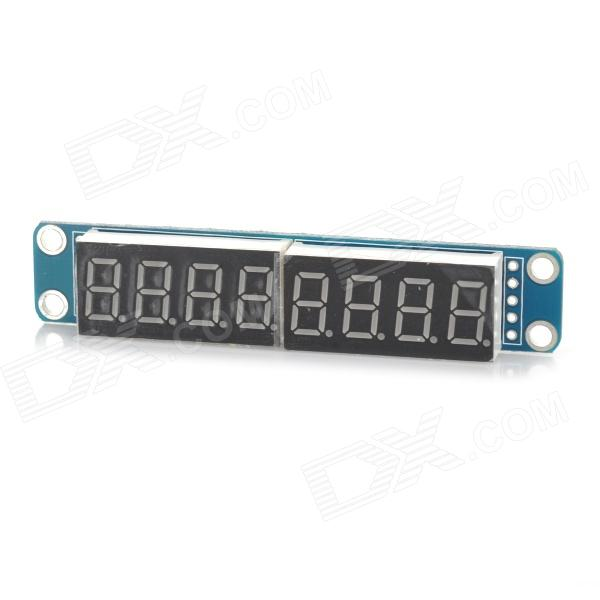 LSON  0.4 8-Digit 7-Segment Digital Display Module - Deep Blue (5V) lson 0 4 8 digit 7 segment digital display module deep blue 5v