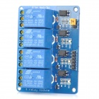 LSON 5V 4-CH Relay Optocoupler Isolation Control Module - Deep Blue