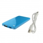 BOCHANG K-4 4000mAh Super Slim External Battery Charger for IPHONE / Samsung + More - Blue