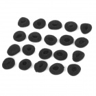 Protective Sponge Cover for Earphones - Black (20PCS)