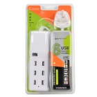SPD-USB603 USB 2.0 6-Port Hub w/ UK Power Cable - White