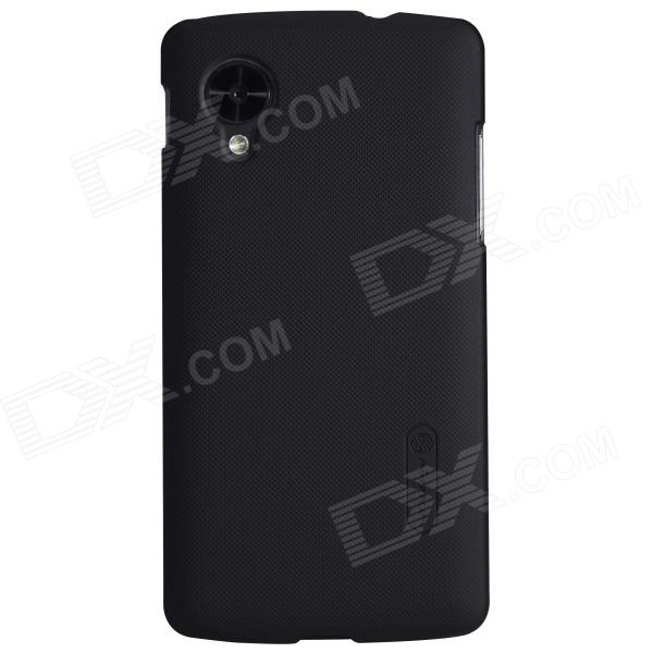 NILLKIN Protective PC Back Case w/ Screen Protector for LG Nexus 5 - Black