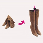 yycy-98 Portable Mini PP Shoe Boot Support - Dark Brown