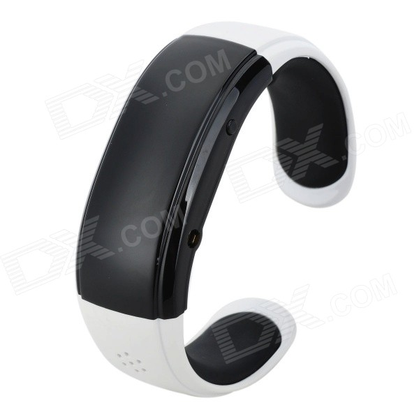 RQ-05 Bluetooth Bracelet Watch Answer Call w/ Vibration + Mic + Speaker + Time + Cell Phone - White wireless service call bell system popular in restaurant ce passed 433 92mhz full equipment watch pager 1 watch 7 call button