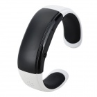 RQ-05 Bluetooth Bracelet Watch Answer Call w/ Vibration + Mic + Speaker + Time + Cell Phone - White