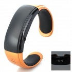 RQ-05 Bluetooth Bracelet Watch Answer Call w/ Vibration + Mic + Speaker + Time + Cell Phone - Golden