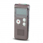 "Portable 1.0"" LED Digital Voice Recorder w/ WMA, WAV, MP3 / Telephone Recording - Wine Red (4GB)"