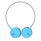 Universal ON3 Headband Stereo Foldable Headphone w/ 3.5mm Jack for Phone, MP3, Tablet, PSP - Blue