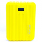 ENCO XLX-1 9000mAh Power Source Bank w/ Digits Display for IPHONE / IPAD / Cell Phone / MP3 - Yellow