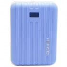 ENCO 9000mAh Power Source Bank w/ Digits Display for IPHONE / IPAD / Cell Phone / MP3 - Blue + White
