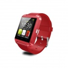 "COOSPO U Watch 8 1.48"" TFT Bluetooth Wearable Smart Sport Watch for IPHONE / Samsung / HTC - Red"