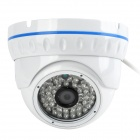 "Longse LIRDN48S130 1/3"" CCD 1.3MP Dome Surveillance Camera w/ 36-IR LED / IR-Cut / Wi-Fi - White"