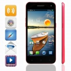 "KICCY 6.9mm Ultra-thin Quad-core Android 4.2 WCDMA Bar Phone w/ 5.0"" IPS, WIFI , GPS , OTG - Pink"