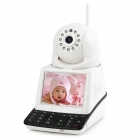 "GEL030901 3.5"" LCD CMD Video Call Wi-Fi P2P Network Phone Camera - White"