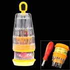 Buy 31-in-1 Multi-function Screwdriver Set / Repair Tools - Silver + Yellow