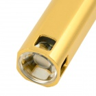 WaLangTing 2000mAh Mobile Power Source w/ CREE XP-E High Light Flashlight - Champagne Gold