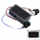 MaiTech CCM5D Digital DC Motor Speed Controller / PWM Stepless Speed Control Switch - Black