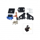 Pro SG90 9g Gear Steering Servo + Bracket Kit - Black + Blue