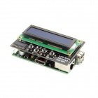 Raspberry Pi B(UK) And RGB Negative 16 x 2 LCD + Keypad Kit for Raspberry Pi - Black