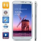 "W9208 MTK6592 Octa-Core Android 4.3.1 WCDMA Bar Phone w/ 6.3"" IPS HD, 16GB ROM, GPS, OTG - White"