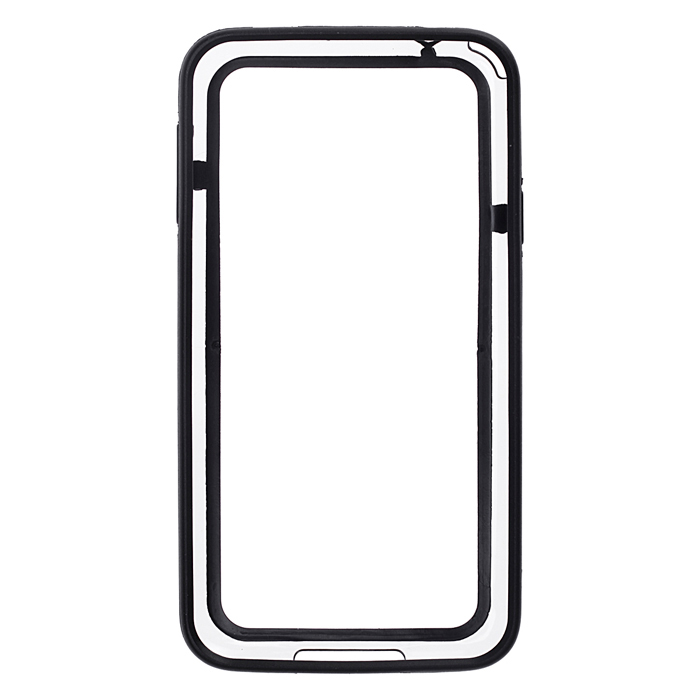 все цены на  High Quality Protective Plastic Bumper Frame for Samsung Galaxy S5 - Black  в интернете