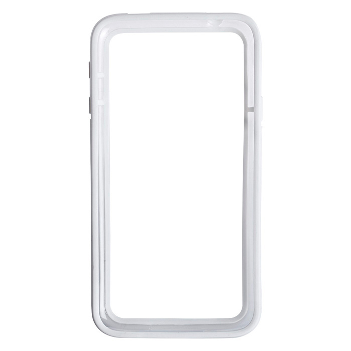High Quality Protective Plastic Bumper Frame for Samsung Galaxy S5 - White