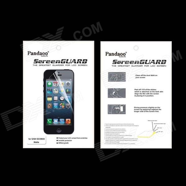 Pandaoo Matte Screen Protector for Samsung Galaxy S5 protective matte frosted screen protector film guard for nokia lumia 900 transparent
