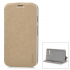 PUDINI LX-0308 Stylish Protective PU Leather + PC Case for MOTO G - Champagne