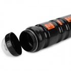 Secura Convenient Outdoor LDPE Cycling Water Bottle for Bike - Black + Orange