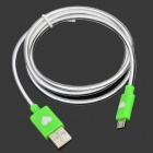 AH-28 Micro USB 5-Pin to USB 2.0 Charging/Data Cable w/ LED Indicator for Samsung (100cm)