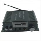 S-750 Hi-Fi Stereo Digital Amplifier w/ FM / SD / USB for Car / Motorcycle - Black
